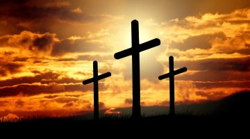 Good Friday is the day religion died